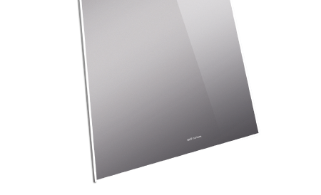 SILVER MAGIC MIRROR  TOTAL INVISIBLE, TINTED MIRROR WITH GOOD PICTURE QUALITY. OFF