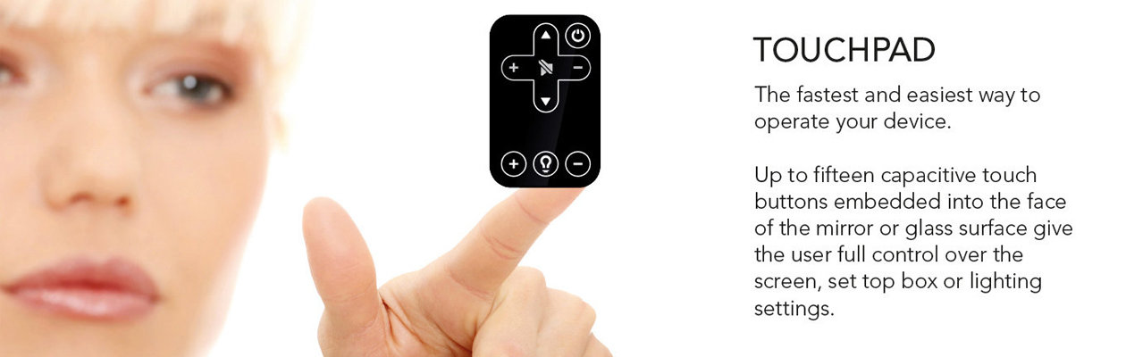 touchpad to operate your device