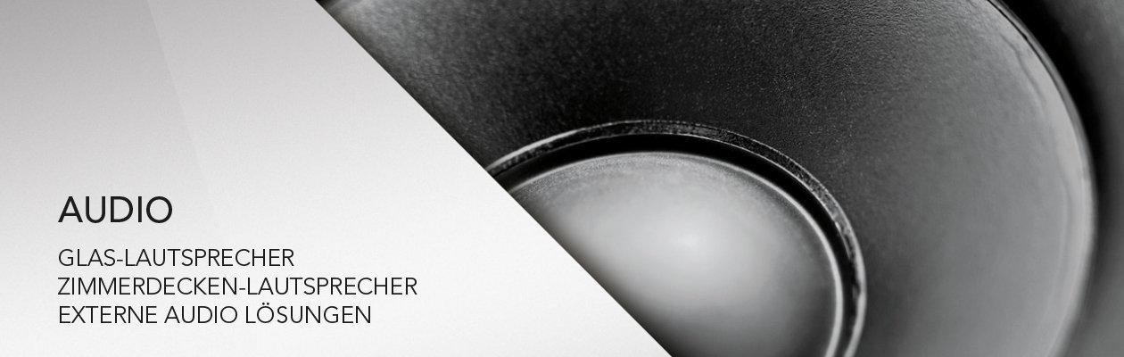unsichtbare Glas Lautsprecher