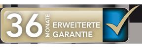 Garantieverlängerung 36 Monate Garantie